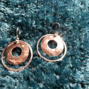Silpada Hammered Sterling Silver Earrings